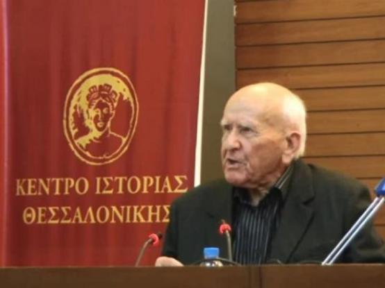 Πέθανε σε ηλικία 103 ετών ο Βασίλης Γκανάτσιος ή καπετάν-Χείμαρρος
