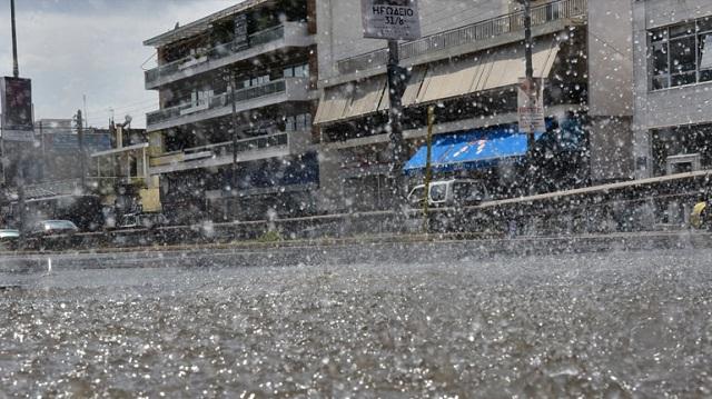 Προειδοποίηση της Γ.Γ.Π.Π. για εκδήλωση ισχυρών βροχοπτώσεων