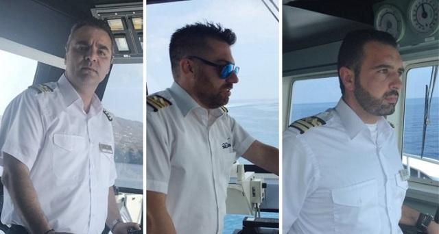 Αυτοί είναι οι ήρωες καπετάνιοι που έσωσαν ζωές στο Μάτι