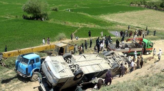 Αφγανιστάν: Λεωφορείο έπεσε σε νάρκη, 8 νεκροί, δεκάδες τραυματίες
