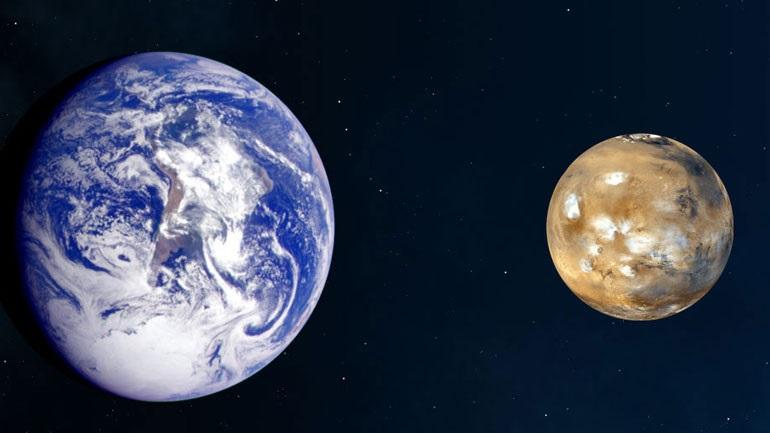 Στην κοντινότερη απόσταση σήμερα Γη και Άρης