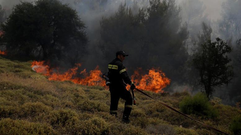 Μεγάλη πυρκαγιά σε εξέλιξη στη Ζάκυνθο -Δύο οι εστίες