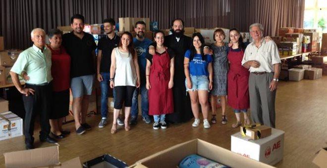 Έμπρακτη αλληλεγγύη στους πυρόπληκτους από τους Έλληνες της Γερμανίας