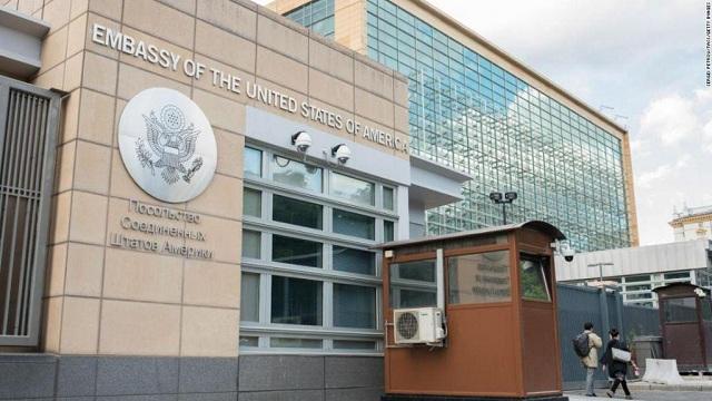 Μόσχα: Πρώην εργαζόμενη στην αμερικανική πρεσβεία κατηγορείται για κατασκοπεία