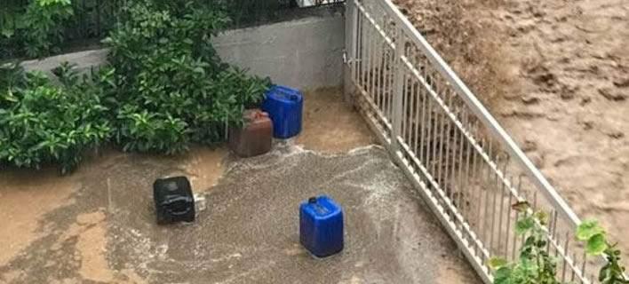 Προβλήματα από την καταρρακτώδη βροχή στη Φθιώτιδα -Εκλεισαν δρόμοι, ξεριζώθηκαν δέντρα [εικόνες-βίντεο]