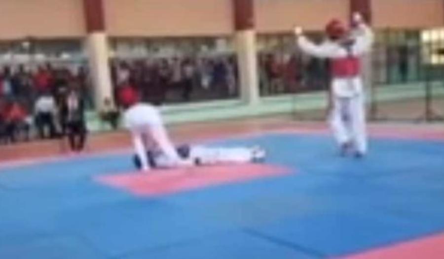 Μαθητής παθαίνει ανακοπή σε αγώνα τάε κβο ντο  (vid)