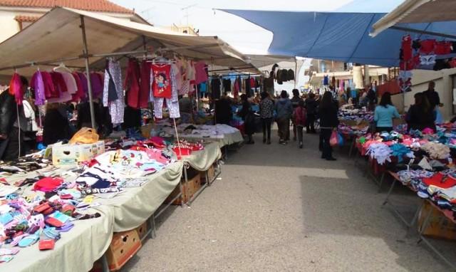 Με εξαφάνιση απειλούνται  οι μικροπωλητές λαϊκών αγορών