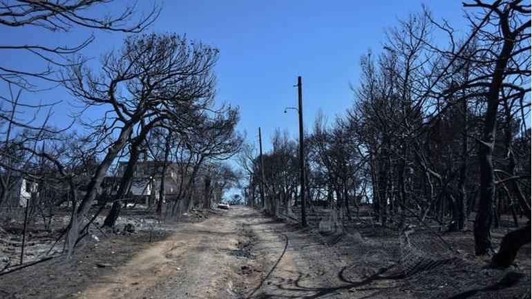 Βρετανοί εμπειρογνώμονες στην Αθήνα για τις πυρκαγιές
