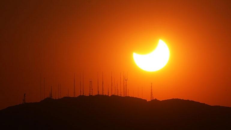 Μερική έκλειψη Ηλίου το Σάββατο