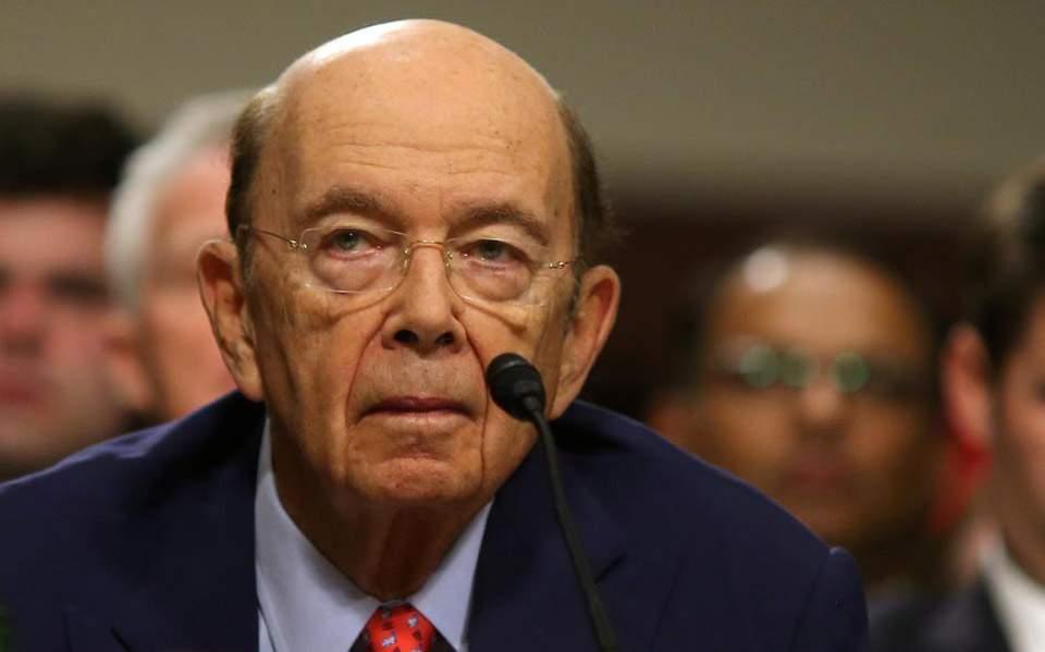 Για υπεξαίρεση 120 εκατ. δολαρίων κατηγορείται ο υπουργός Εμπορίου των ΗΠΑ