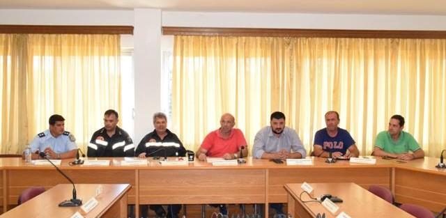 Καθορίστηκαν σε σύσκεψη οι παρεμβάσεις σε περίπτωση εκδήλωσης πυρκαγιάς