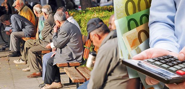Στα 723 ευρώ η μέση κύρια σύνταξη