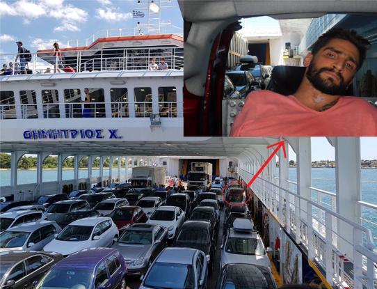 Άφησαν ΑΜΕΑ στο γκαράζ πλοίου γιατί δεν είχαν σύστημα για να ανεβάσουν το καροτσάκι στο κατάστρωμα!