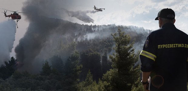 Μετρούν τις πληγές τους στην Εύβοια – Υπό έλεγχο η φωτιά