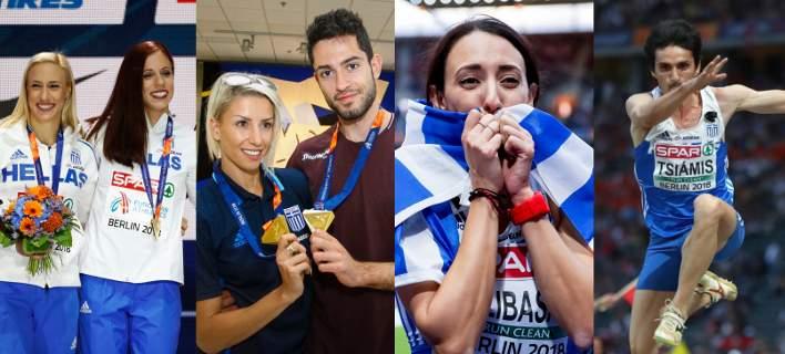 Ευρωπαϊκό Πρωτάθλημα Στίβου: Ελληνικός θρίαμβος στο Βερολίνο