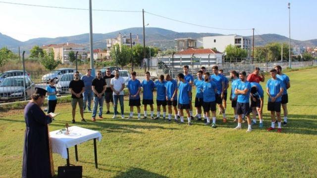 Με 22 ποδοσφαιριστές η «πρώτη» του Πυράσου