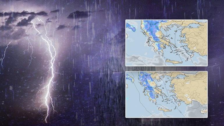 Δεκαπενταύγουστος με βροχές και καταιγίδες
