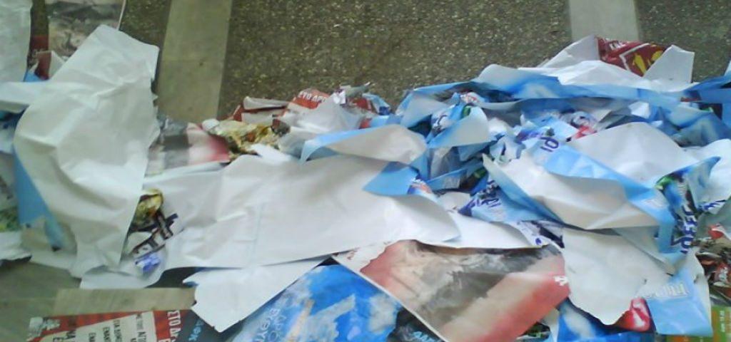 Αυστηρές προειδοποιήσεις του Δήμου Καρδίτσας για την αφισορρύπανση