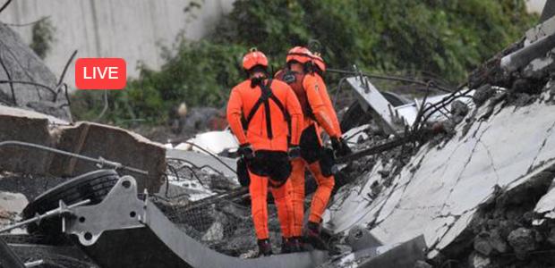 Τουλάχιστον 30 νεκροί από κατάρρευση οδογέφυρας στη Γένοβα