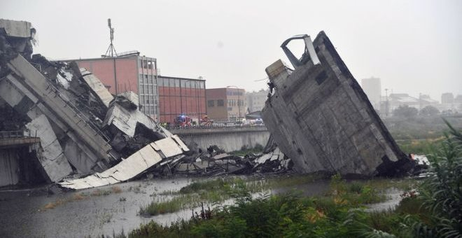 Ιταλία: Η γέφυρα της Γένοβα θα κατεδαφιστεί