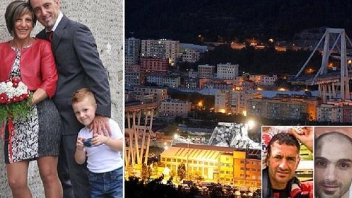 Αυτά είναι τα θύματα της τραγωδίας στη Γένοβα - ΦΩΤΟ