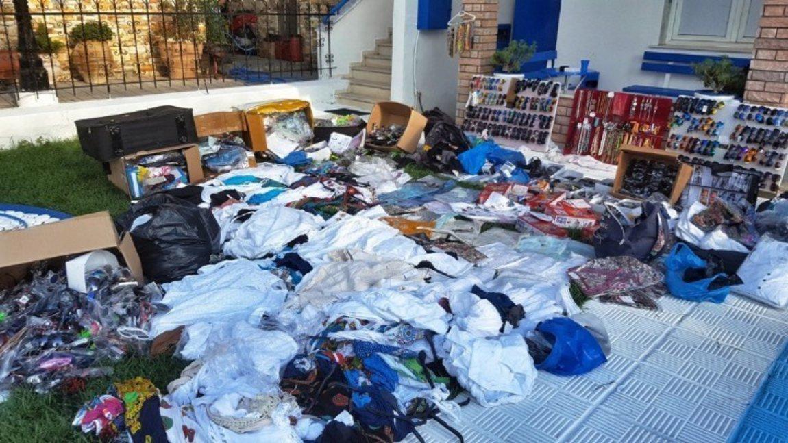Καβάλα: Κατασχέθηκαν 6.000 είδη παρεμπορίου - Τέσσερις συλλήψεις