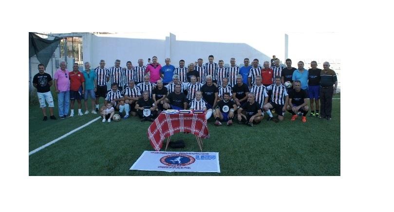 Μέσα από το ποδόσφαιρο «ένωσαν» Ελλάδα και Κύπρο