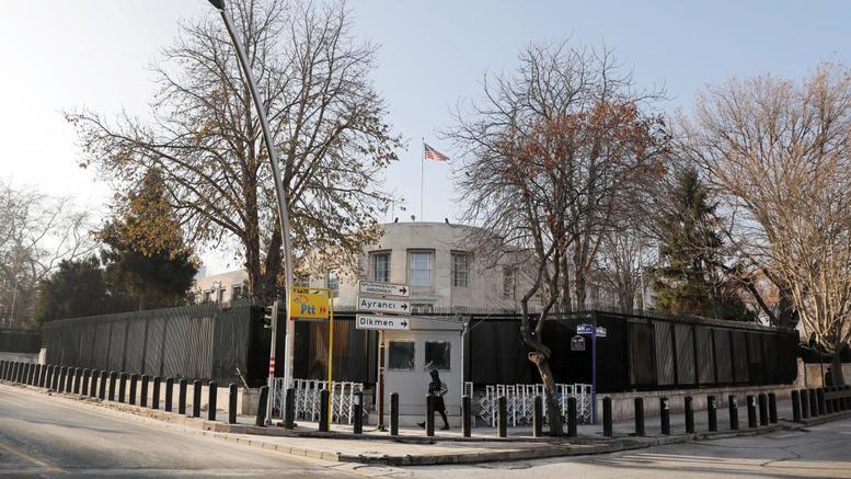 Πυροβολισμοί στην αμερικανική πρεσβεία στην Αγκυρα