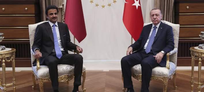 Το Κατάρ σώζει την Τουρκία -Δίνει 15 δισ. δολάρια