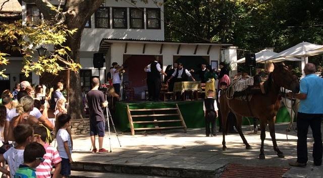 Εκατοντάδες επισκέπτες στην Πορταριά για την αναβίωση του Πηλιορείτικου Γάμου