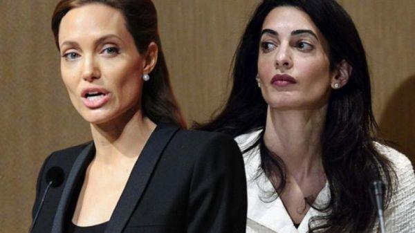 Η Αντζελίνα Τζόλι είναι μία «απαίσια ζηλιάρα» της Αμάλ Κλούνεϊ