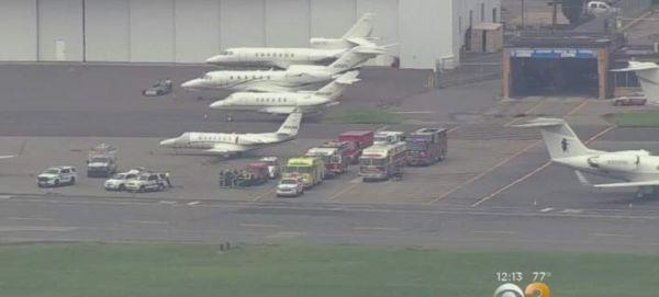 Αναγκαστική προσγείωση μικρού αεροσκάφους στο Νιου Τζέρσι - Έφυγαν δύο ρόδες