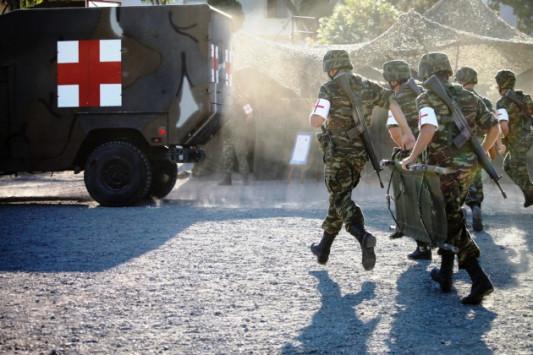 Συναγερμός στο ΓΕΣ: Τραυματίστηκε σοβαρά ναρκαλιευτής του στρατού