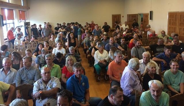 Παρουσία πολλών πολιτών η συνεδρίαση του Δημοτικού Συμβουλίου Βόλου