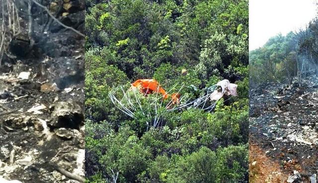 Συγκλονιστικές εικόνες και μαρτυρίες: Ο πιλότος κρατούσε ακόμη το πηδάλιο