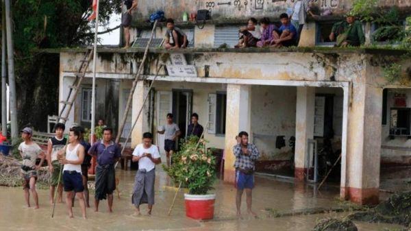 Μιανμάρ: 50.000 άνθρωποι απομακρύνθηκαν μετά την κατάρρευση φράγματος