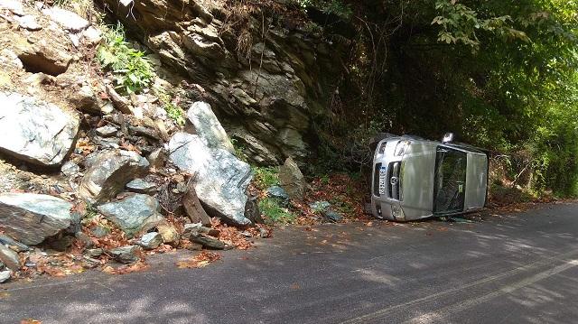 Φοβερό τροχαίο ατύχημα στην Τσαγκαράδα
