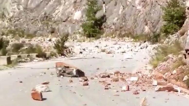 Ζημιές και κατολισθήσεις από τον ισχυρό σεισμό 5,2R στα Τρίκαλα