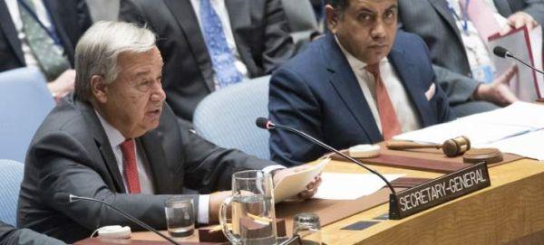 O Γενικός Γραμματέας του ΟΗΕ ζητεί τον άμεσο τερματισμό των εχθροπραξιών στη Λιβύη