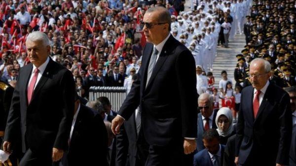Ερντογάν: Τέλος το δολάριο στις εμπορικές συναλλαγές με Μόσχα