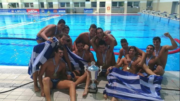 Πρωταθλητές Ευρώπης οι Νέοι Άνδρες στο πόλο