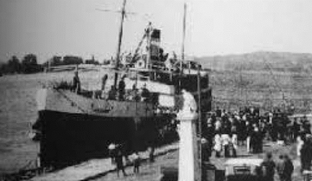 Γρηγόρης Καρταπάνης: Το ναυάγιο του Α/Π Καλλιόπη (4/9/1927)