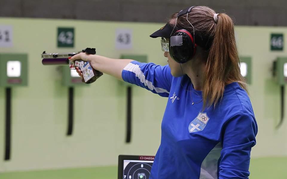 Πρωταθλήτρια κόσμου η Aννα Κορακάκη στο αεροβόλο πιστόλι