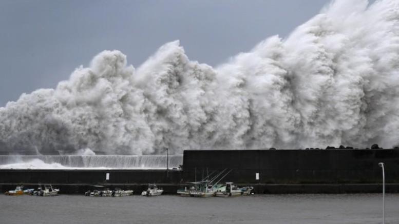 Ο ισχυρότερος τυφώνας των τελευταίων 25 ετών στην Ιαπωνία