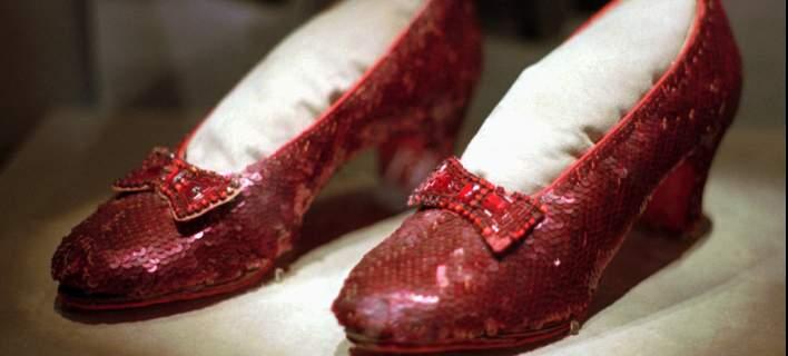 Βρέθηκαν τα κλεμμένα θρυλικά κόκκινα παπούτσια της Τζούντι Γκάρλαντ από τον «Μάγο του Οζ»