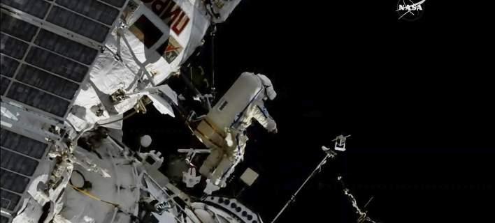 Από ανθρώπινο χέρι η ρωγμή στον Διεθνή Διαστημικό Σταθμό