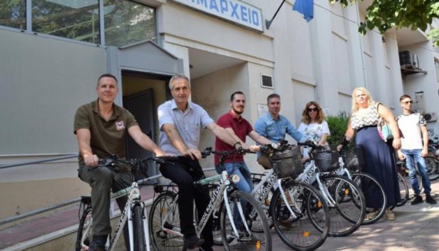 Υπηρεσιακά... ποδήλατα στον Δήμο Καρδίτσας