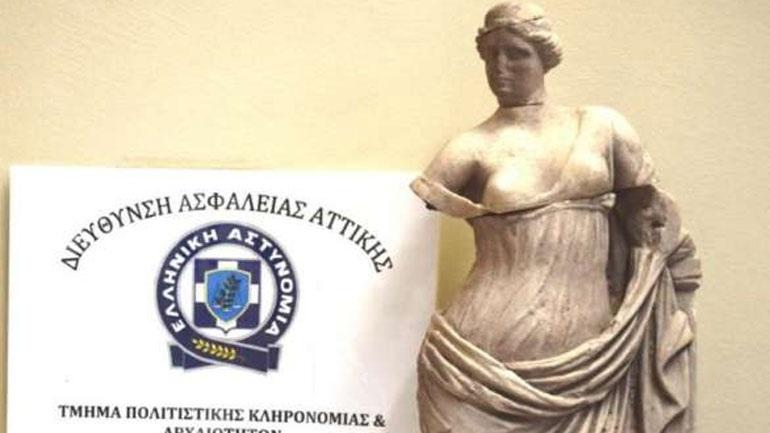 Έκλεψε το άγαλμα της θεάς Αφροδίτης από το Μουσείο Σαντορίνης