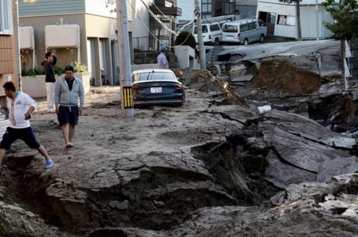 Ο σεισμός άλλαξε τον χάρτη της Ιαπωνίας! - Βουνά μετακινήθηκαν, χάθηκαν δρόμοι