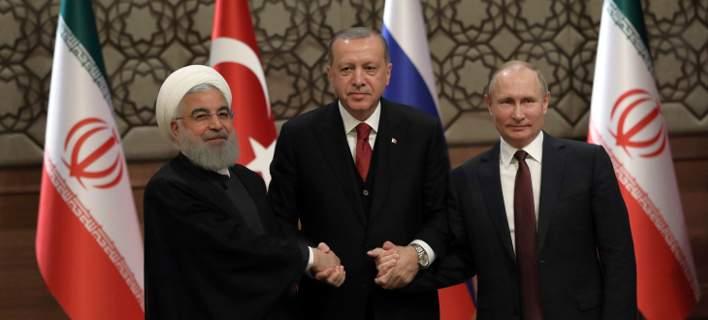 Πούτιν, Ερντογάν, Ρουχανί αποφασίζουν στην Τεχεράνη για το μέλλον 3 εκατ. Σύρων